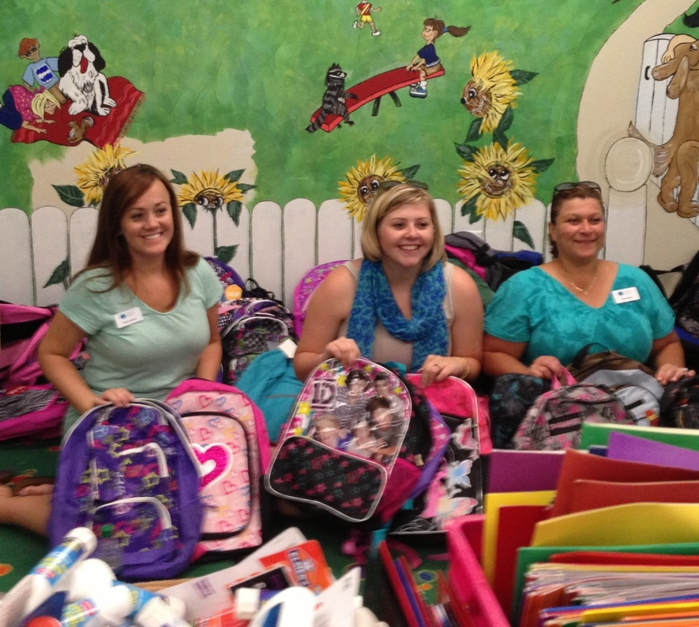 Thank you to Emerald Coast Junior League for hosting our Back to School Bash