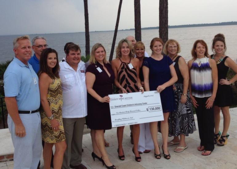 Thank you to Destin Charity Wine Foundation for your support of the Center!