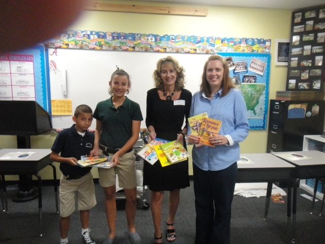 A special thank you to Carli Gomez for organizing a book drive for the Center