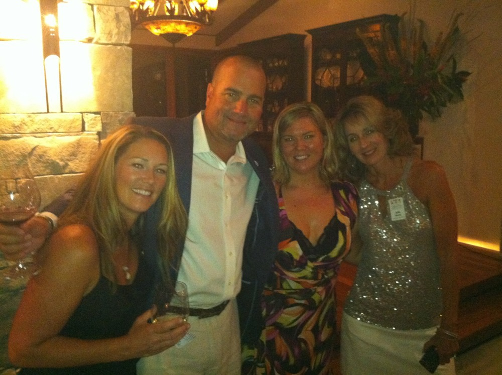 Dan Costa, Julie Hurst, Jen Floro at The Evening with Morgan.