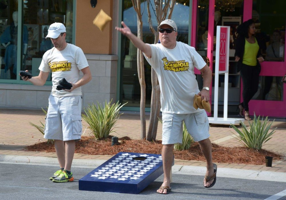 James Dufour&Les Porterfield at Destin Charity Cornhole Tournament.jpg