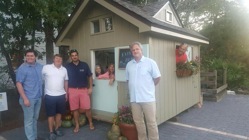 Big thanks to the  LAH Real Estate at The Beach team for decorating the play house for the raffle!— attending  LAH Real Estate at the Beach- ECACC Playhouse Reveal Party  at  LAH Real Estate at The Beach .