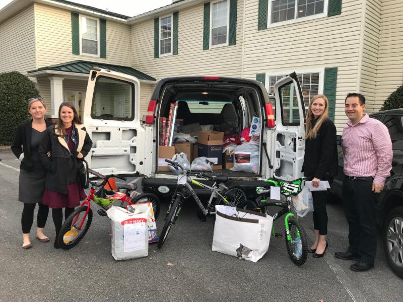 Thank you to Team Sandestin for sponsoring nine of our families this year for Adopt-A-Family! Because of them and all of our other amazing sponsors, our children in need and their families will be able to have a Christmas this year!