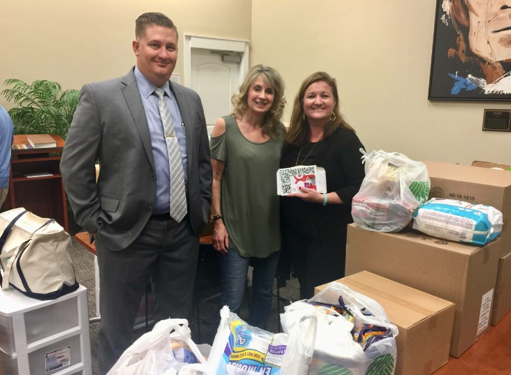 ECCAC staff delivered some goodies to the staff at the Gulf Coast CAC in Panama City. They have a long road of recovery ahead of them and we are doing everything we can to help them!