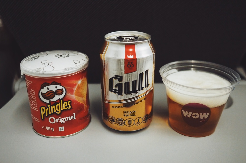 airplane beer