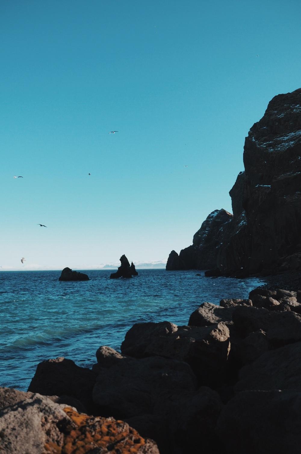 westman islands coast
