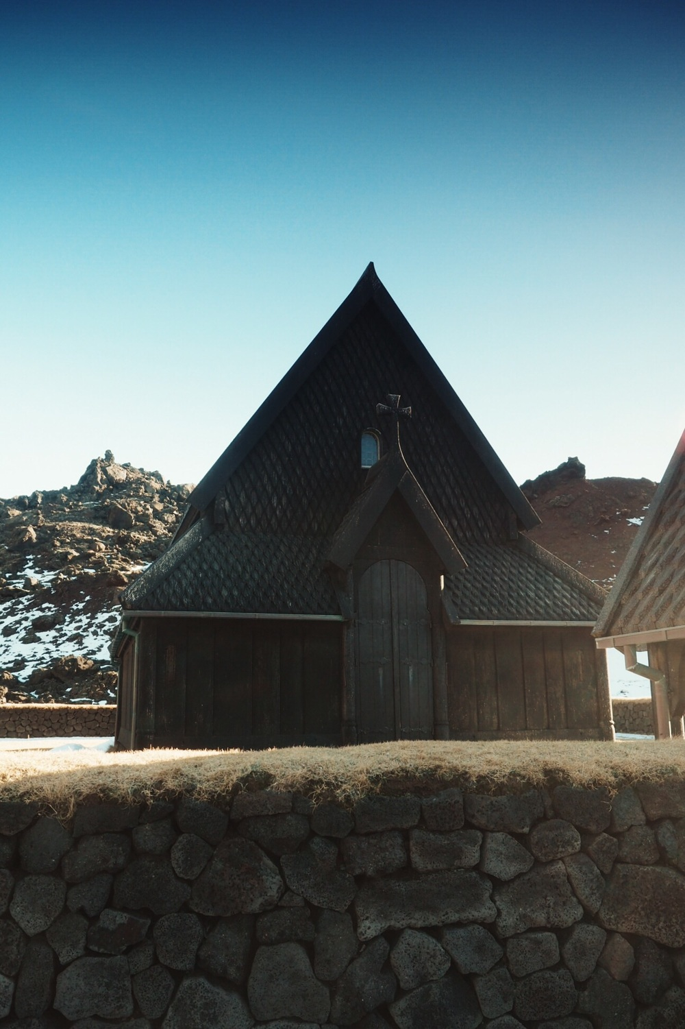 stave church heimaey