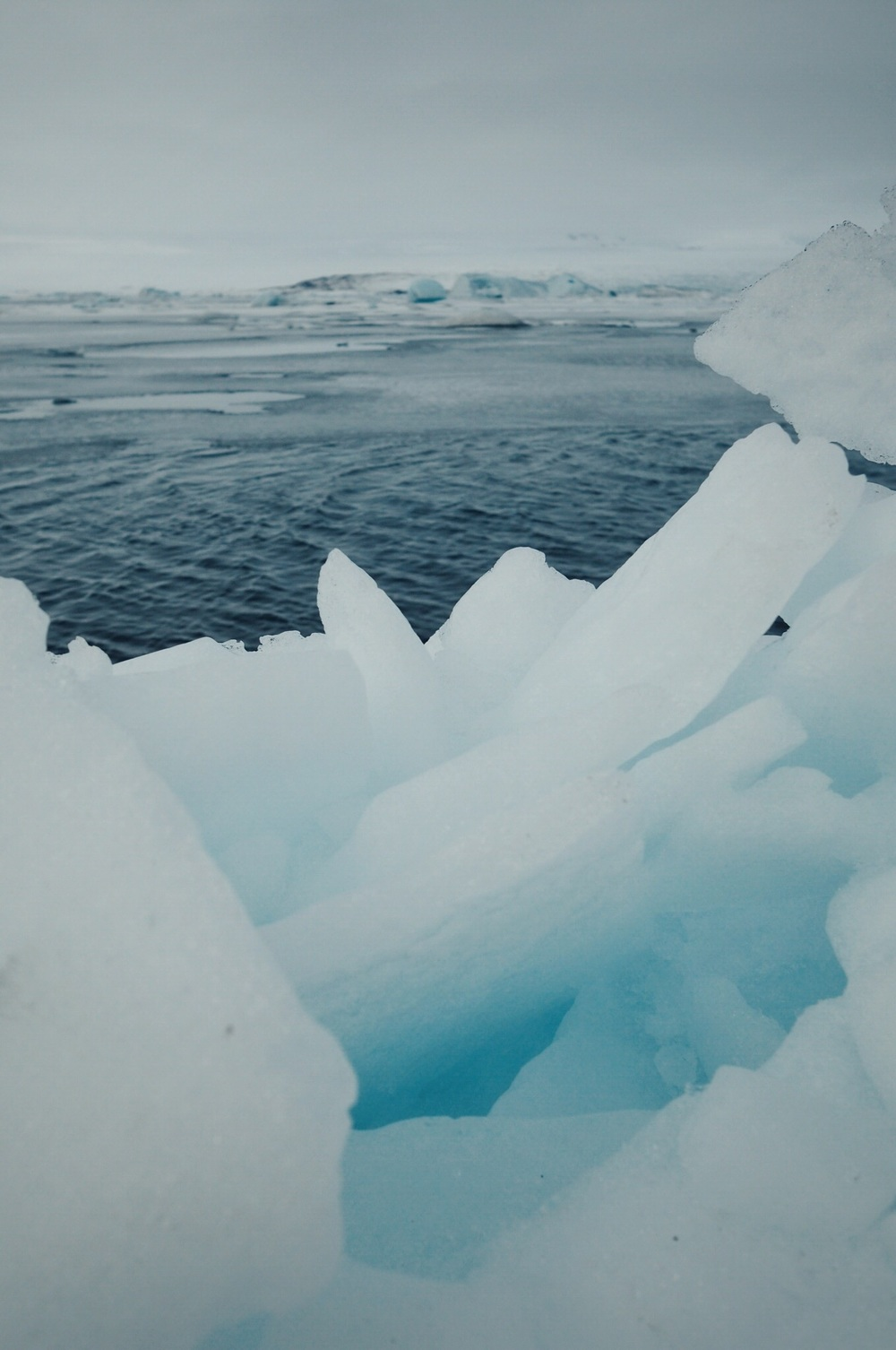 jokulsarlon blue ice