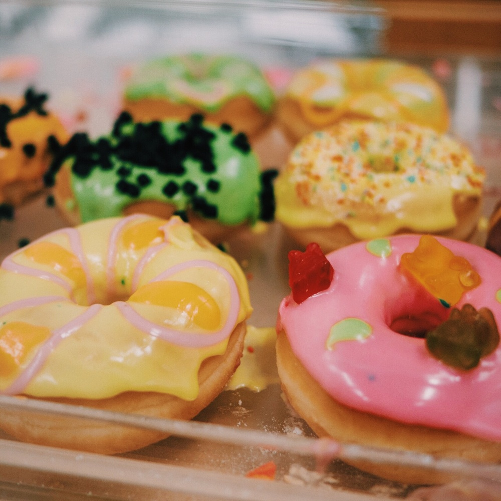 Psychadelic doughnuts