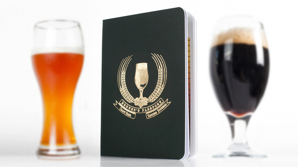 $5 - Brewer's Passport Beer Log