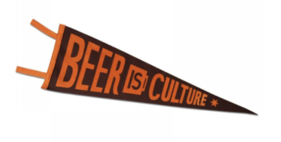 $18 - Sixpoint Beer Culture Pennant
