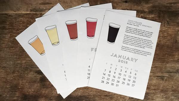 $30 - 2018 Beer Calendar