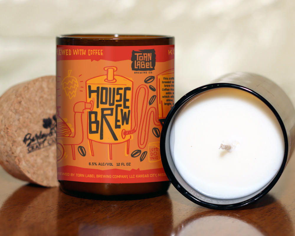 $28 - Artisan Beer Candles