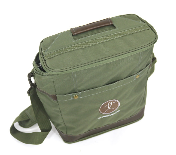 $30 - Tired Hands Embroidered Cooler Bag
