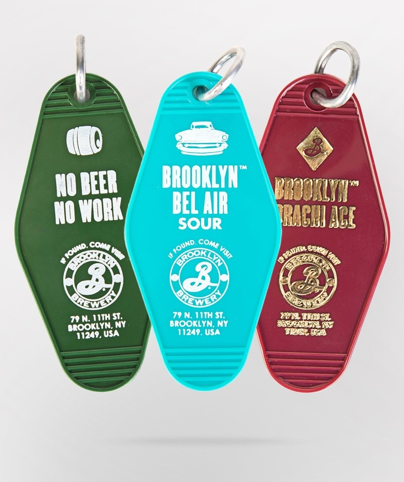 $3 - BK Brewery Motel Key Tag