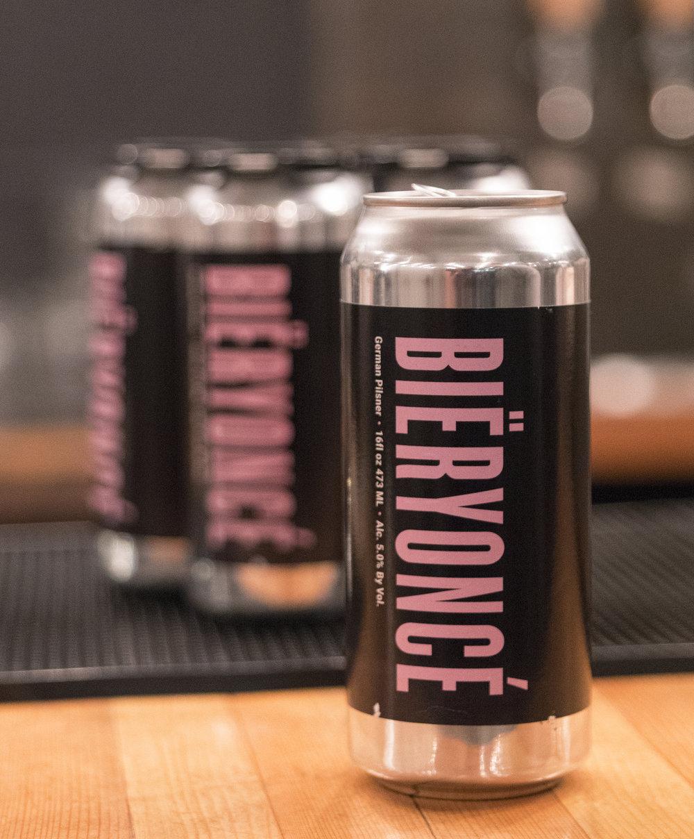 $16 - 4-Pack of Bieryonce Cans