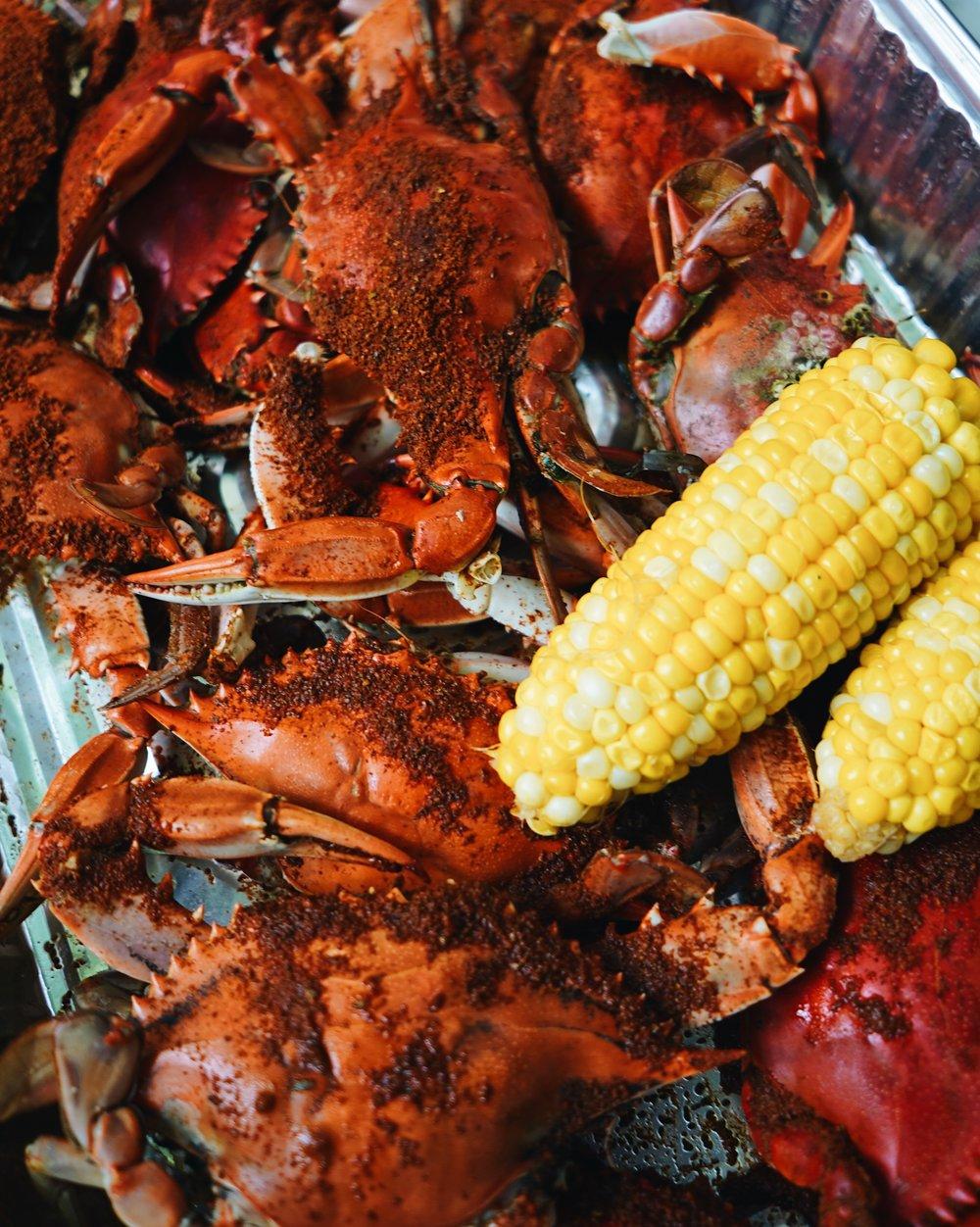Crab success!