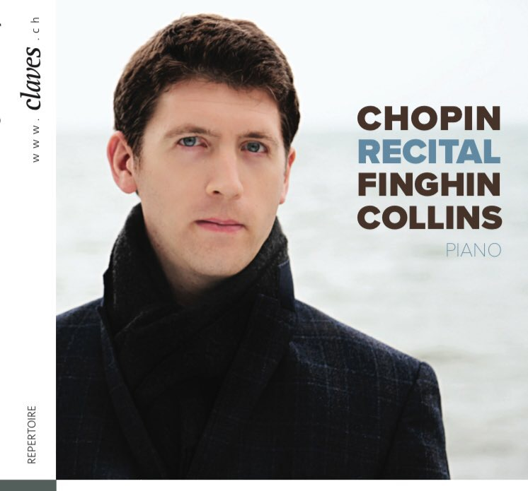 CHOPIN RECITAL CD - Three Mazurkas Op. 32, Two Nocturnes Op. 32, Prelude Op. 45, Ballade No. 4 Op. 52, Two Nocturnes Op. 48, Polonaise-Fantasie Op. 62, Claves Records, 2017