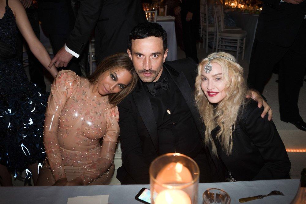 Beyonce + Riccardo Tisci + Madonna