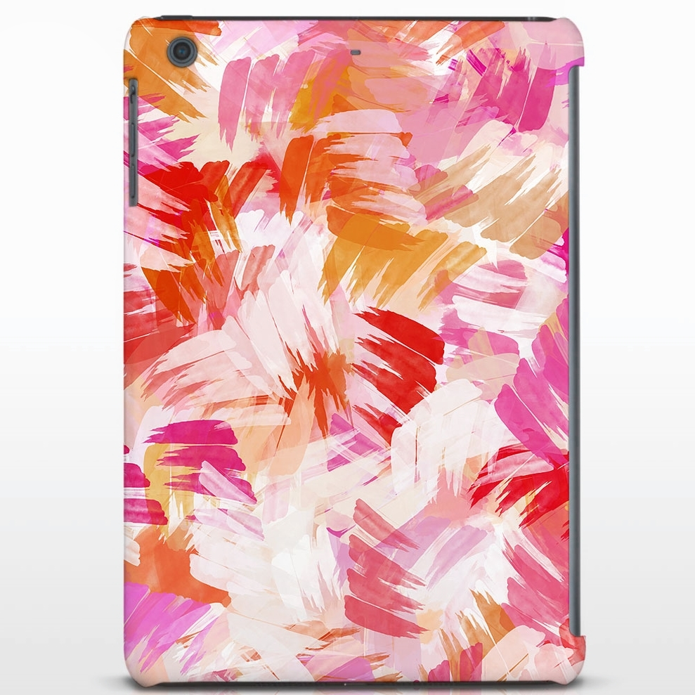 Macrografiks / Pink Abstract Tablet Cover