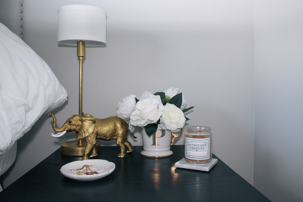 Gold lamp  from  Illuminate Vintage
