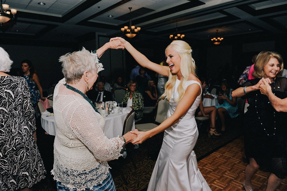 Even Nana got out on the dance floor!