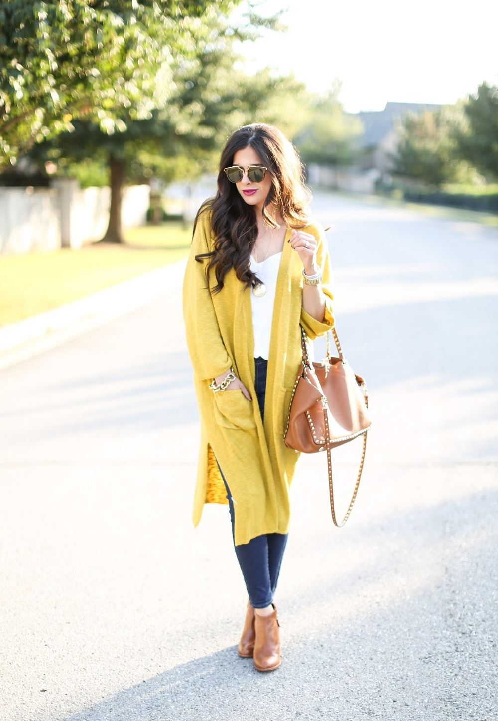 chicwish review, valentino rockstud tote tan, emily gemma, michael kors watch black face, fall outfit idea 2015 pinterest, pinterest outfits fall casual.jpg