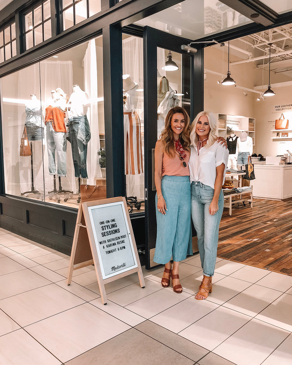 - Hosted an event at Madewell with Karina and got to meet so many of you lovely people!