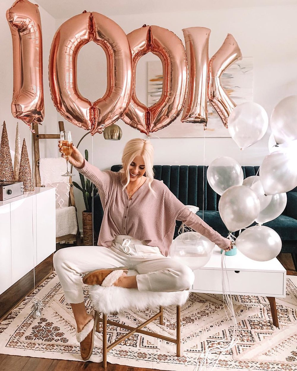 - Reached 100K followers on Instagram and celebrated this HUGE milestone!!!! Such a dream come true!