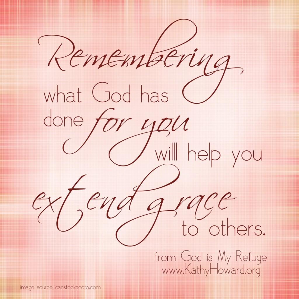 extend grace