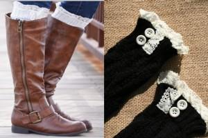 Black Boot Socks_peek a boo_collage