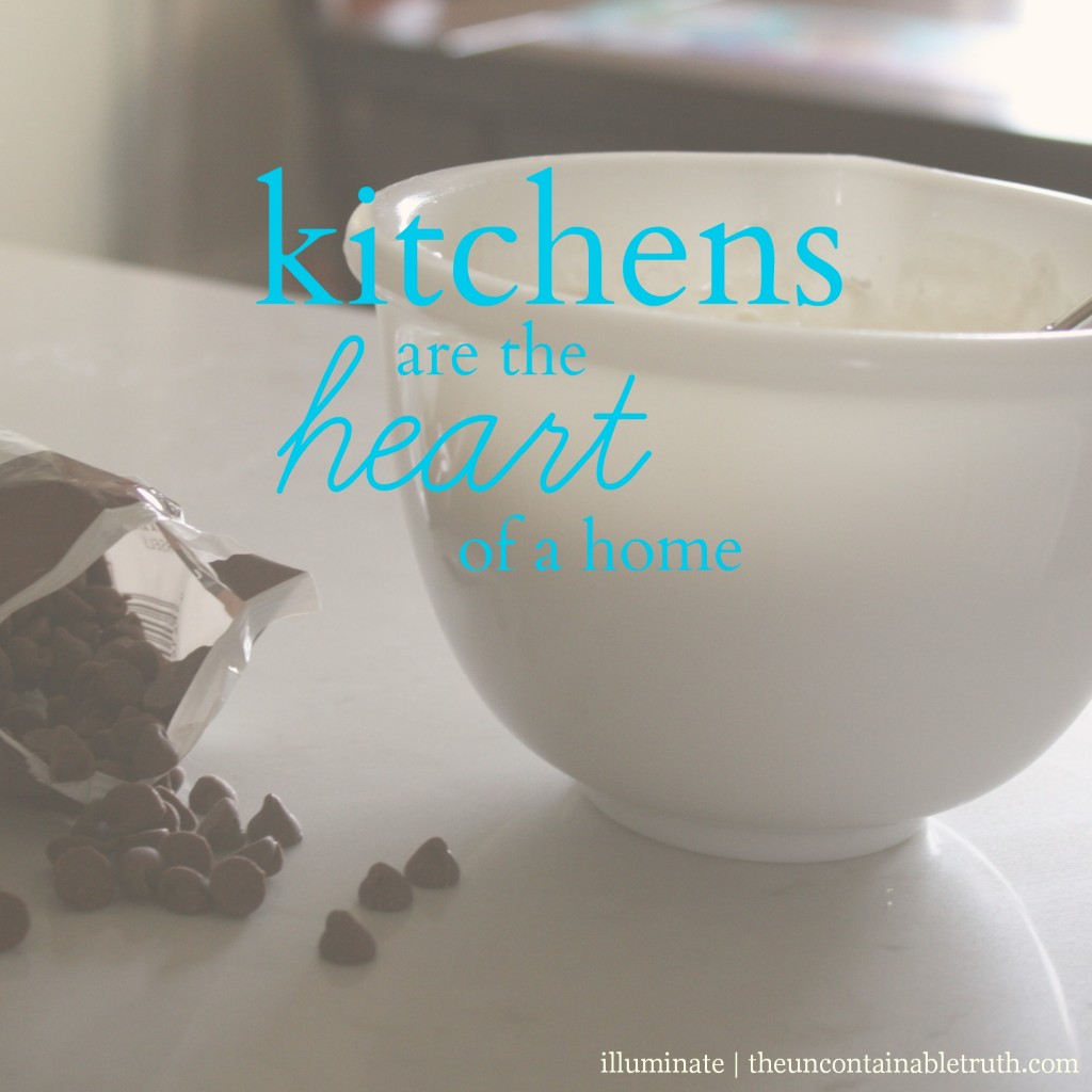 kitchens are the heart of a home
