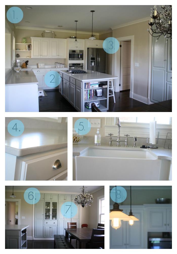 kitchen numbered