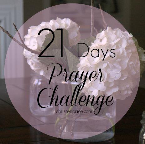 21 Days Prayer Challenge