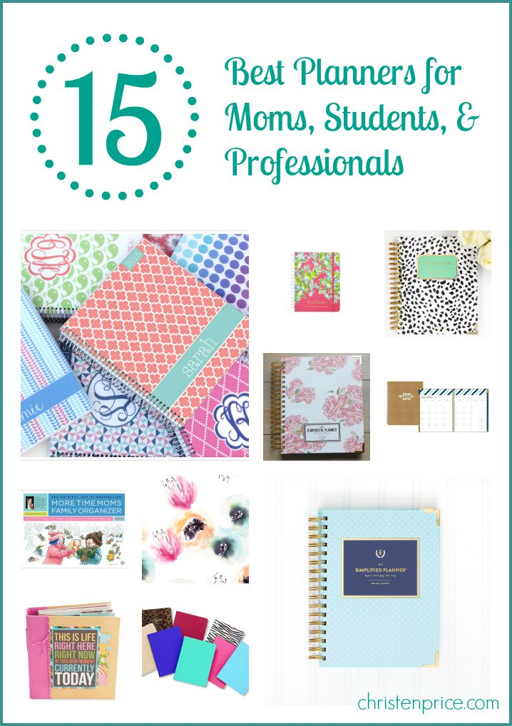15 best planners for moms, students, and professionals {+ a
