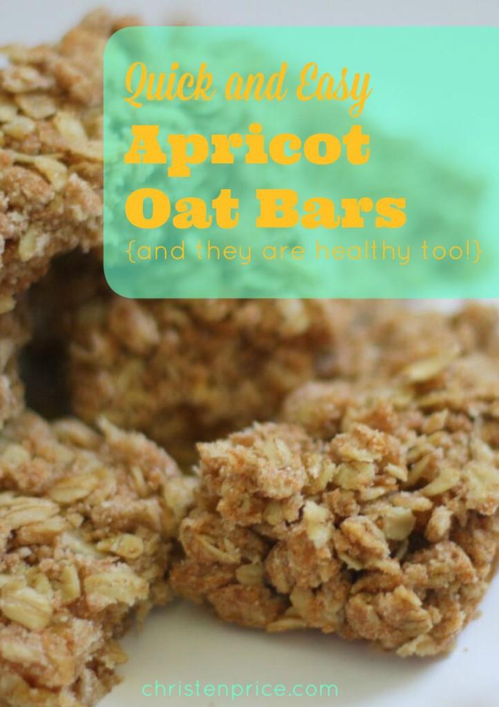 apricot oat bars - pinterest
