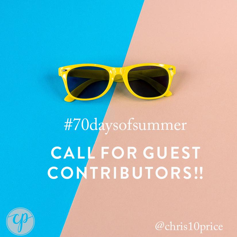 #70days guest contributors