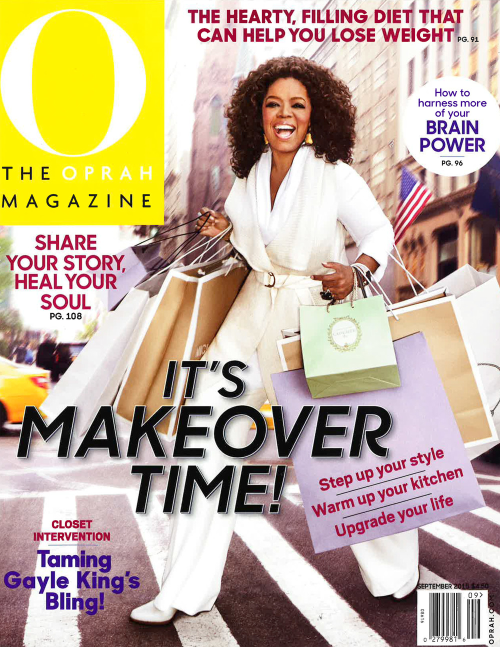 O, THE OPRAH MAGAZINE - SEPTEMBER 2015