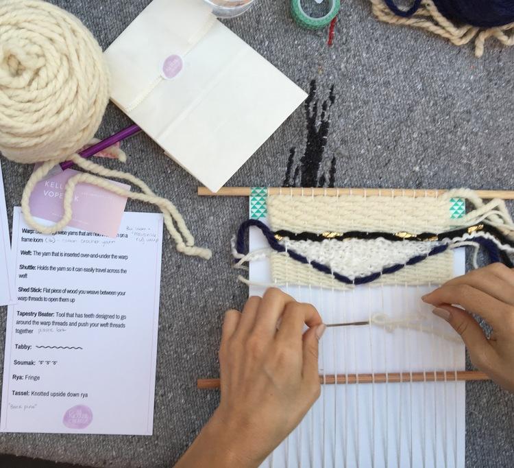 Weaving for Beginners at Los Angeles County Store   $85 — Kellee