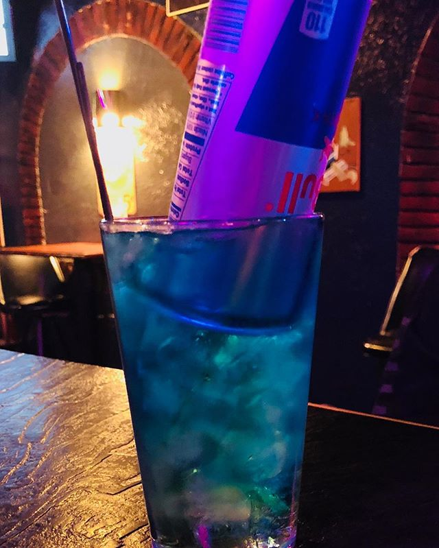 No show tonight so come visit Alex and have one of her world famous Trashcan drinks with gin, rum, vodka, peach schnapps and blue caracao topped with Red Bull. If that's not your style, we're got $2 PBR tall boys, $3 Wells and $4 Jameson all night long! Come party!