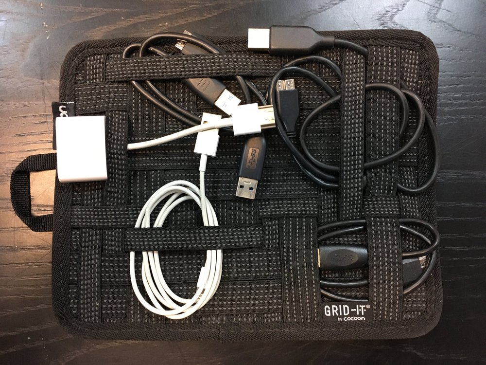 Cord Organizer for all things cables.