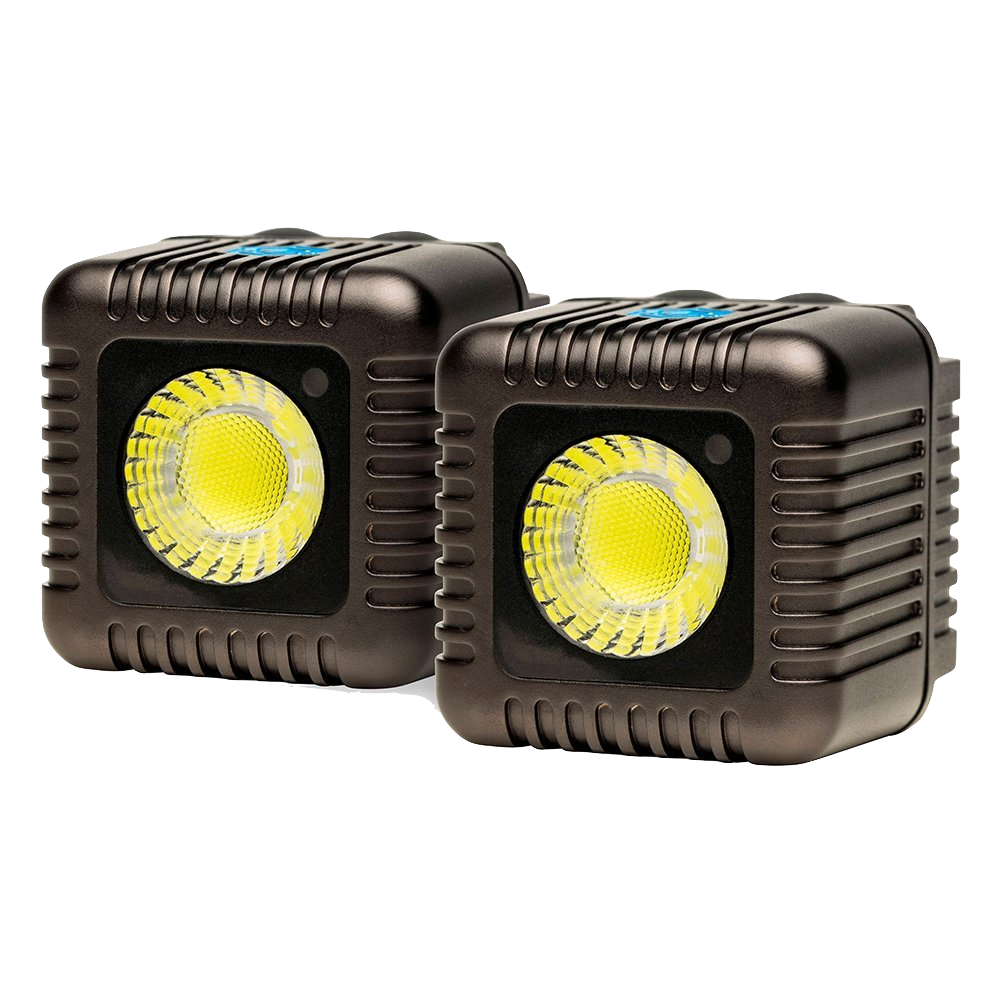 Lume Cube Lights.