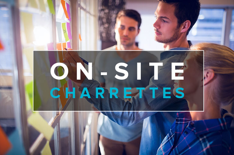 on-site charrettes
