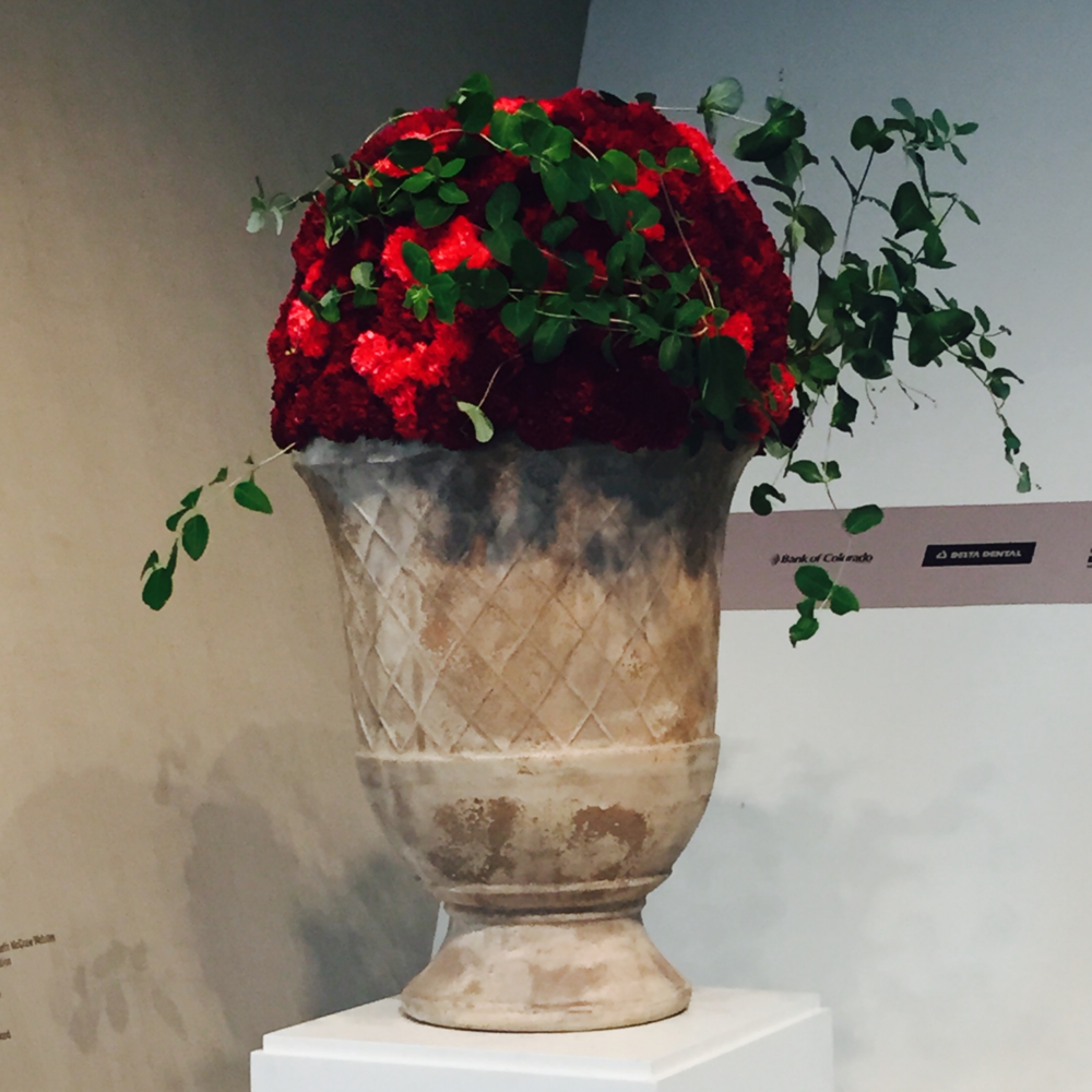 Denver Art Museum In Bloom Exhibit - August 2015
