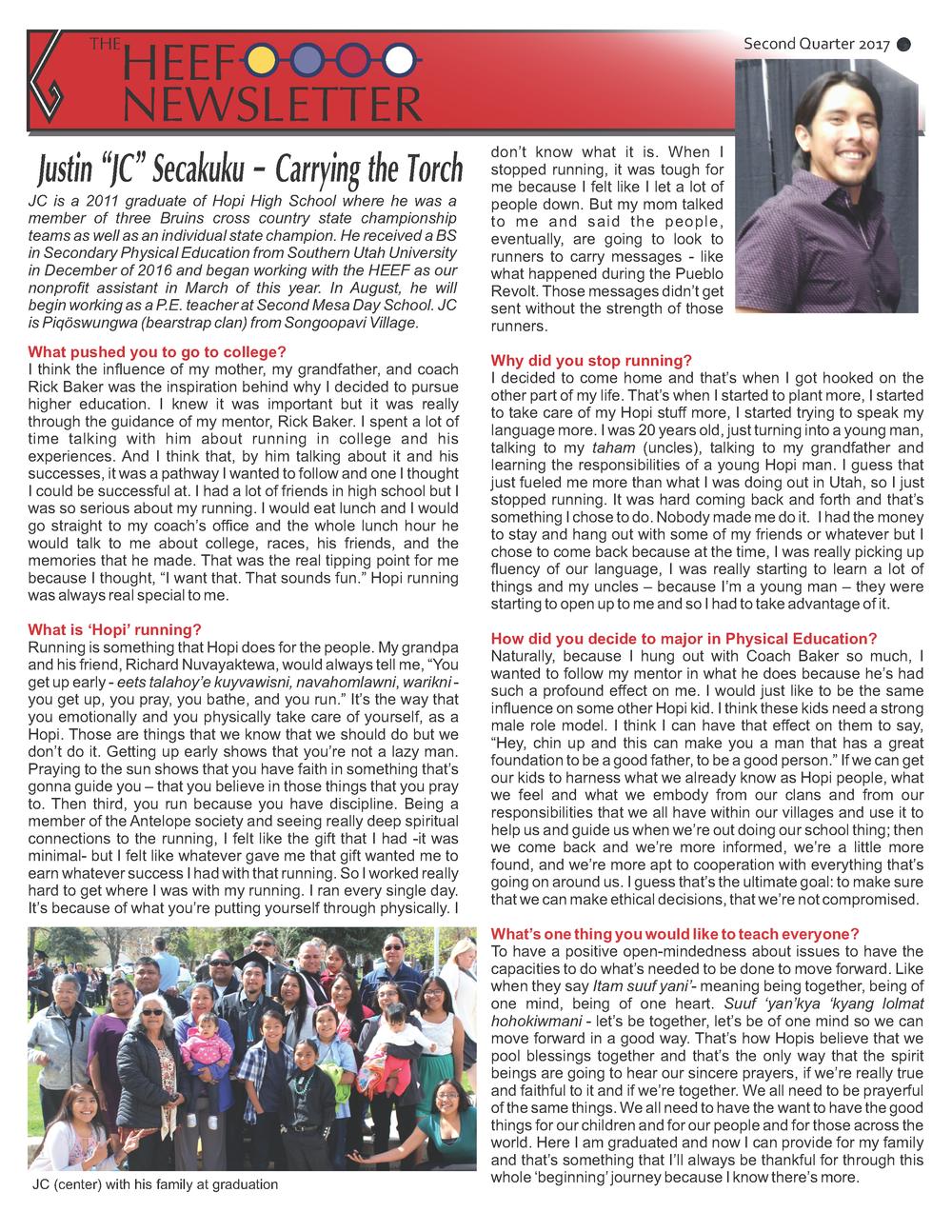 2nd qtr HEEF Newsletter