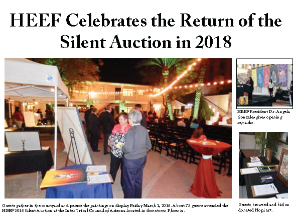 Hopi Tutuveni Silent Auction Article