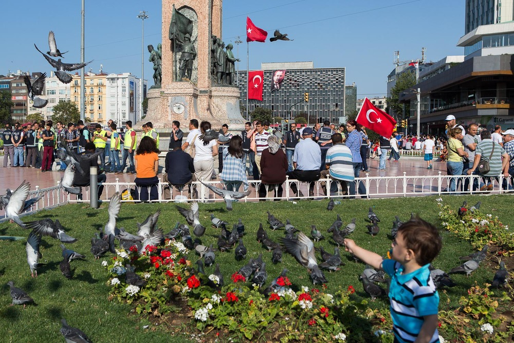 Violent demonstration @ Taksim, Istanbul - July 6th 2013