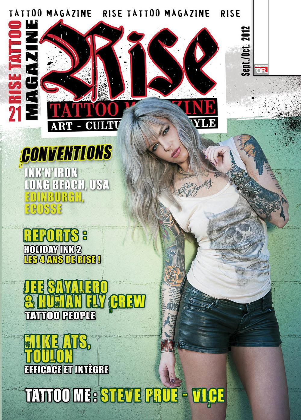 Rise tattoo magazine #21 / Samples