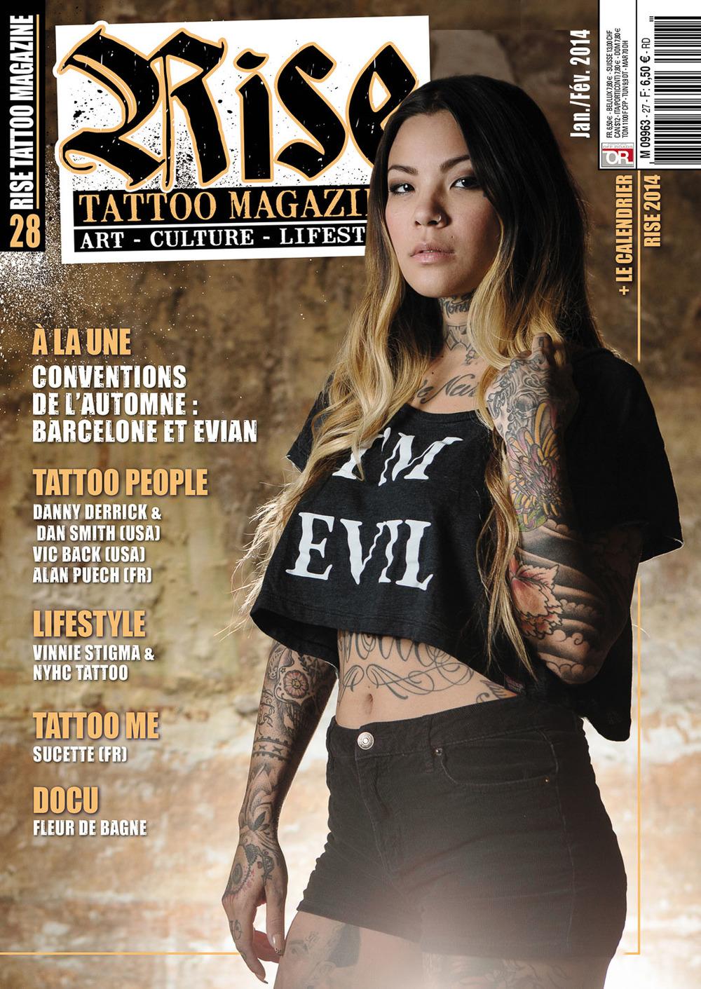 Rise Tattoo Magazine #28 / Cover