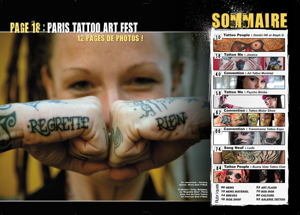 Rise Tattoo Magazine #7